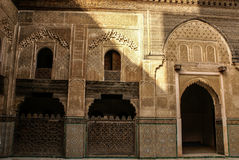 Detail of the beautiful tile mosaic decoration of the at Fez, Mo Stock Photo