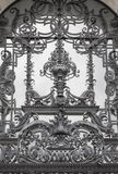 Detail of a beautiful window grilles Royalty Free Stock Image