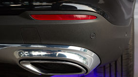 Detail of a beauty and fast sportcar Stock Photo