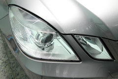 Detail a beauty sport car headlight Stock Photo