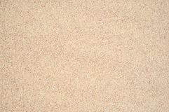 Detail beige clean sand closeup texture background Stock Photography