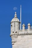 Detail from belem tower Royalty Free Stock Photo