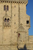 Detail of Belem Tower Royalty Free Stock Photo