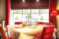Detail of Belgian cafe Stock Image