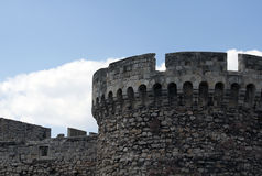 Detail of the Belgrade Fortress Royalty Free Stock Image