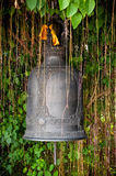 Detail of the bell at Golden mount (Wat Sutep), Bangkok Royalty Free Stock Images