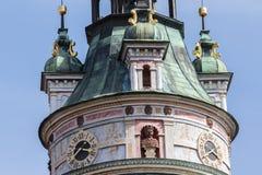 Cesky Krumlov, Czech Republic - August 17, 2017 royalty free stock image