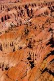 Detail, Berggipfel und Unglücksboten Lizenzfreies Stockfoto