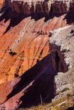 Detail, Berggipfel und Unglücksboten Stockfotos
