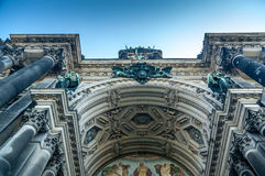 Detail of the Berliner Dom Stock Photo