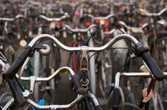 Detail of a bicycle Stock Photos