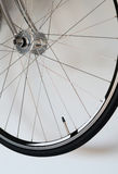 Detail of bicycle wheel Royalty Free Stock Photography