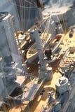 Detail of big war ship Stock Photography