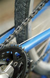 Detail of bike 1. The gearwheel of a bike in detail Royalty Free Stock Images