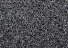 Detail of black rubber door mat texture Royalty Free Stock Photography