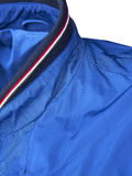 Detail of blue jacket Royalty Free Stock Photo