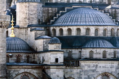Detail of the Blue Mosque, Istanbul, Turkey Royalty Free Stock Image