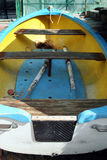 Detail of a boat Stock Photo