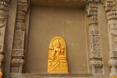 Detail of Bodh Gaya pagoda at Wat Chong Kham , Lampang province,. Thailand build models from India Royalty Free Stock Photos