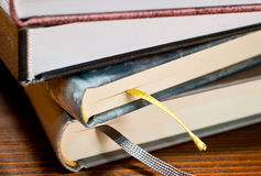Detail of books Royalty Free Stock Image