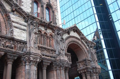Detail of Boston Trinity Church Stock Photography
