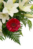 Detail of bouquet of flowers Royalty Free Stock Images