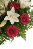 Detail of bouquet of flowers Royalty Free Stock Image