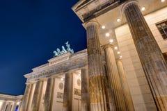 Detail of the Brandenburger Tor Stock Photo