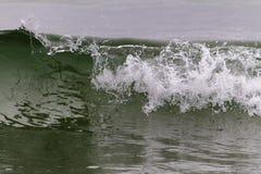 Breaking wave at Newfoundland coastline