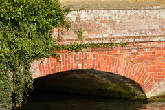 Detail of brick bridge Royalty Free Stock Photo