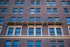 Detail of brick house in Brooklyn Royalty Free Stock Images