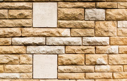 Detail of a brick wall Stock Images
