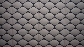 Detail of brick wall or floor tile pattern Stock Photography