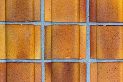 Detail of Brick Wall Royalty Free Stock Photography