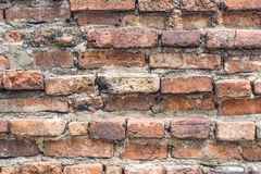 Detail of the brick walls Royalty Free Stock Images