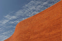 Detail of a Bricked Wall Stock Images