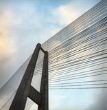 Detail of a bridge. Royalty Free Stock Image