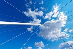 Detail of Bridge of Thaon di Revel Stock Image