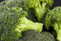 Detail of brocoli. Detail background Stock Images