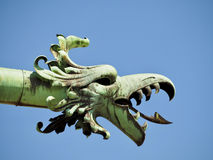 Detail of bronze decoration Royalty Free Stock Photography