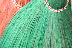 Detail broom fibers Royalty Free Stock Photos