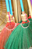 Detail broom fibers Royalty Free Stock Image