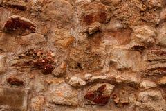 Detail of a brown brick wall Stock Photos