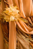 Detail of brown dress Stock Images