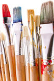 Detail of brushes Royalty Free Stock Image