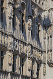 Detail of Brussels Town Hall, Belgium Stock Photography