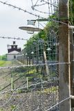 Detail of Buchenwald Concentration Camp. Near Weimar stock photography