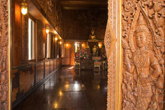 Detail of buddhist temple Stock Photography