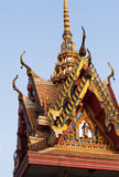 Detail of Buddhist temple Royalty Free Stock Photo