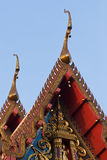 Detail of Buddhist temple Stock Photos